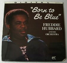 Freddie HUBBARD Born to be blue USA Red wax LP PABLO D2312134 (1982) Sealed!