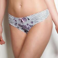 Freya Daphne Womens Lingerie Thong Heather Print NEW AA1147 Size: X-Small UK 8