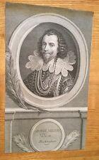 18th siècle portrait de george villiers, duc de buckingham.