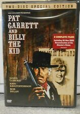 Pat Garrett and Billy the Kid (DVD 2006 2-Disc Set Special Edt) RARE 1973 NEW