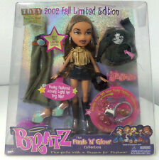"""NEW Bratz Yasmin Funk N Glow Collection 10"""" Doll 2002 MGA Clothes Accessories C3"""