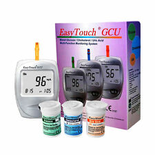 EASYTOUCH GCU best meter for glucose, colestherol and uric acid