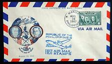 Philippinen Philippines Kat. 473 used FDC Cover 1947