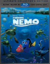 Finding Nemo (3D Blu-ray, Blu Ray, Blu Ray Bonus and DVD)