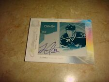 2009-10 the cup printing plates logan couture rc rookie auto #1/1