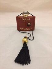 Vtg. Original YSL Opium Parfum 30mL /1 oz 50% Full + Extra Mini