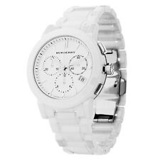 Burberry Unisex BU9080 White Ceramic Watch