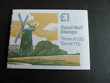 GB 1990 £1 folded booklet SGFH21 ,