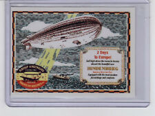 1937 Hindenburg Airship schedule - 50th anniversary limited edition by Superior