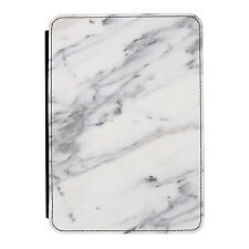 Marble Grey White Veined Stone Effect iPad Mini 1 2 3 PU Leather Flip Case Cover
