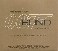 Various - The Best of James Bond...James Bond (CD 2002) 40th Anniversary Edition