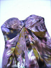MATTHEW WILLIAMSON NET-A-PORTER SILK PARTY DRESS size XS