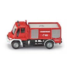 """Siku 1068 Unimog """"Feuerwehr 112"""" rot Maßstab 1:87 NEU! °"""
