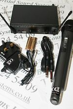 Stageline TXS-611SET UHF hand radio microphone systems. Lisence free