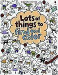 Lots of Things to Find and Color Usborne Activities