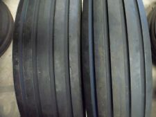 TWO 7.50-16,750X16,750-16,7.50X16 Rib Implement DISC,WAGON Tractor Tires w/Tubes