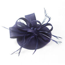 Colorful Sinamay Fascinator Hairpin Hat Party Wedding Festival Flower Accessory