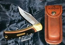 "Schrade USA 6OT Knife W/Original Sheath 5"" Old Timer Lockback W/Delrin Handles"