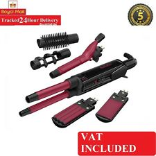 BABYLISS 2800CU 12 IN 1 HAIR STYLER SET KIT STRAIGHTENER CURLER CRIMPER BRUSH
