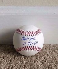 Clint Hill Autograph Signed OMLB Baseball Secret Service JFK W/Inscription 11-22