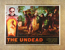 The Undead Movie Poster Magnet - Roger Corman Horror Death Witch