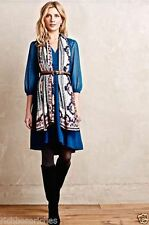 NWT ANTHROPOLOGIE Celeste Dress by HD in Paris, 0, Blue, $148