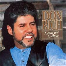I Want You to Know by Don Rich (CD, 1999, Jin)