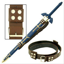 Zelda Link Hyrule Sword Leather Belt Strap EM0015B-GF1F