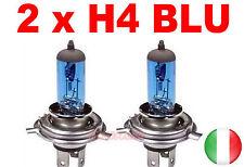 COPPIA LAMPADE ALOGENE H4 LAMPADINE FARI RICAMBIO AUTO 12V 60/55W EFFETTO XENON