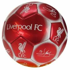 Official licensed football produit liverpool signature football taille 5 cadeau nouveau