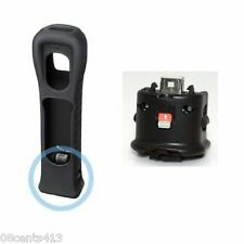 Nintendo Wii (RVL-026) Black MotionPlus Accessory With Rubber Wii Remote Jacket