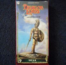 1985 Titan Giant's Club Grenadier Models 3510 Dungeons & Dragon Lords AD&D Boxed
