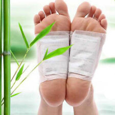 100 PCS Detox Foot Pads Patch Detoxify Toxins Fit Health Care Detox Pad