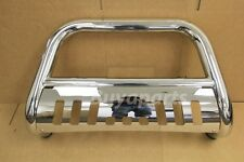 Chrome Stainless S/S BULL BAR Brush Push Bumper Grill Guard 05-13 TOYOTA TACOMA