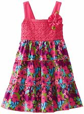 NWT Youngland Floral Summer Dress Size 4T
