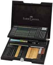 Faber Castell Holzkoffer PITT Monochrome Sortiment 112971