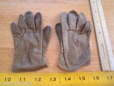 Vintage Fownes childs tiny horse riding gloves