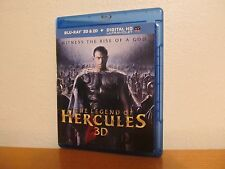 THE LEGEND OF HERCULES Blu Ray 3D / 2D - No UV Code - I combine shipping
