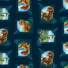 Fat Quarter Disney The Good Dinosaur Scenic Patches 100% Cotton Quilting Fabric