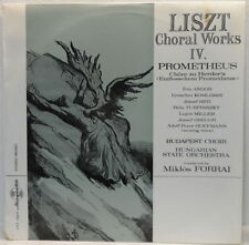 Liszt - Choral Works IV. LP Budapest Choir / Hungarian State Orchestra / FORRAI