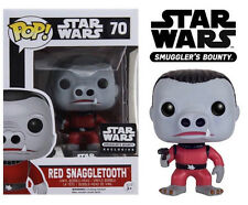Funko Pop! STAR WARS Smugglers Bounty Exclusive Cantina Box RED SNAGGLETOOTH #70
