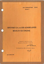 SPITFIRE IIA/IIB TECH MANUAL AP1565B Vol.1: 250+pps A3 CUTAWAY & FREE INFO PACK