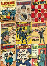 ORIGINAL FORMAT 99 Quality Comics BLACKHAWK BLACK HAWK 9-107 Dvd
