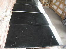 "4x4"" Sample Black Nero Marquina Polished Floor & Wall Marble Tiles Black Marble"