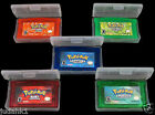 Game CARDS 5PCS Sapphire/Emerald/FireRed/LeafGreen/Ruby for GBM/GBA/SP/NDS