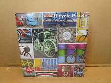 500 Piece Re-Marks Jigsaw Puzzle -  Bicycles - New - Qty 4
