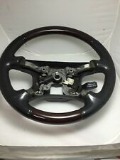 2001-2006 Mitsubishi Montero Limited Wood Steering Wheel OEM MR510987X1 Nice!