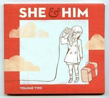CD SHE & HIM : Volume two / Domino Recording 2010