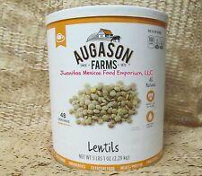 AUGASON FARMS Emergency Survival Foods Lentils BIG #10 Can 81 oz NON GMO