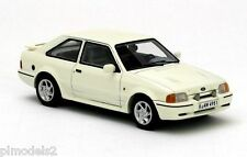 NEO SCALE MODELS - 44951 FORD ESCORT MK4 RS TURBO WHITE 1:43 SCALE